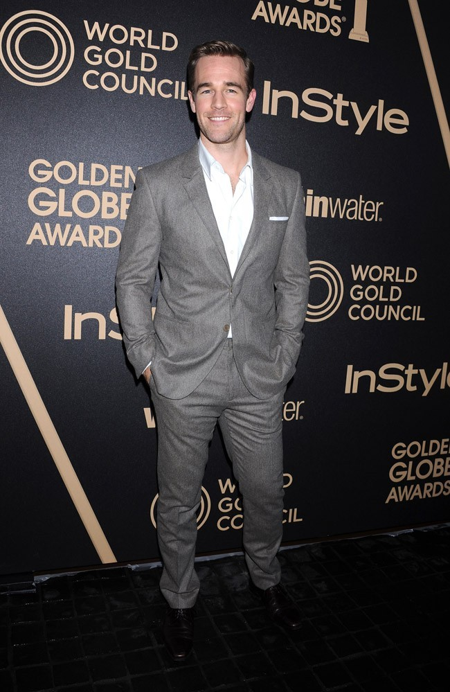 James Van Der Beek le 29 novembre à Los Angeles