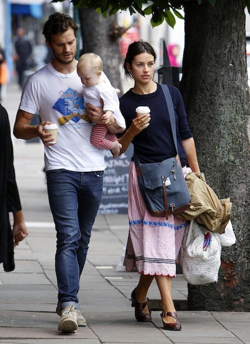 Photos : Jamie Dornan : décontracté pour une rare apparition en famille !