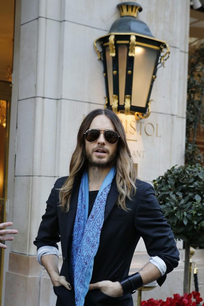 Jared Leto à Paris le 5 mars 2014