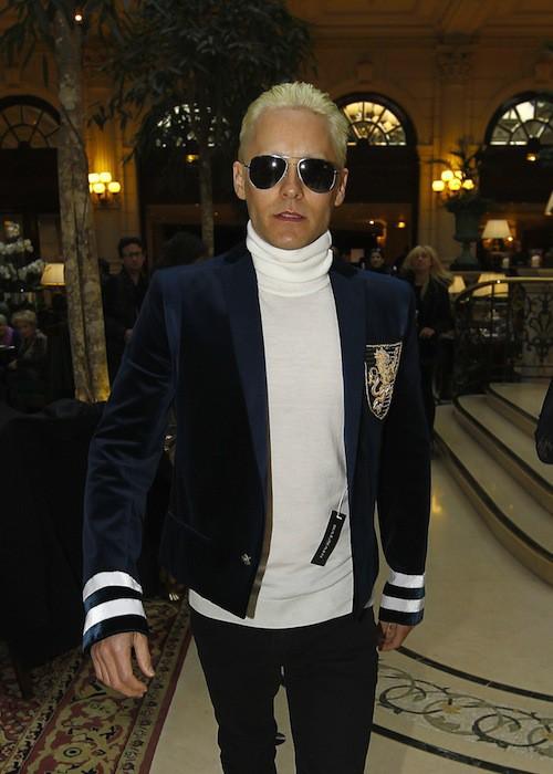 Photos : Jared Leto : une vraie blonde !