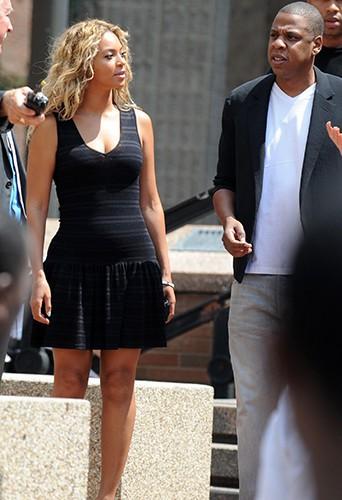 Jay-Z et Beyoncé à New-York le 20 juillet 2013