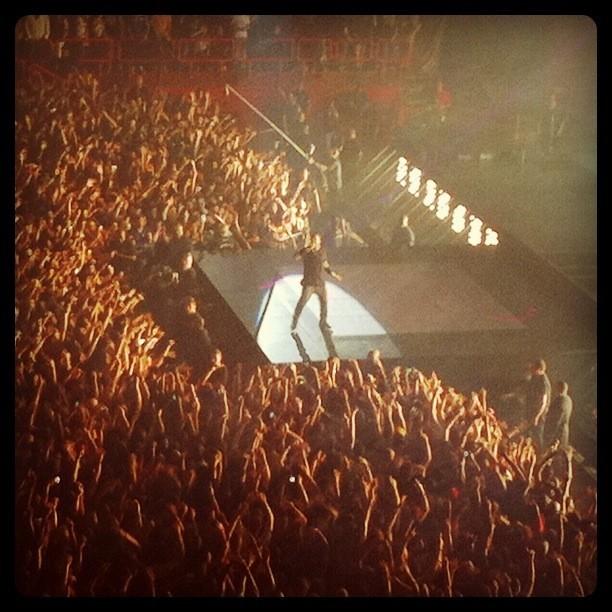 Concert de Kanye West et Jay-Z à Paris Bercy, le 1er juin 2012.