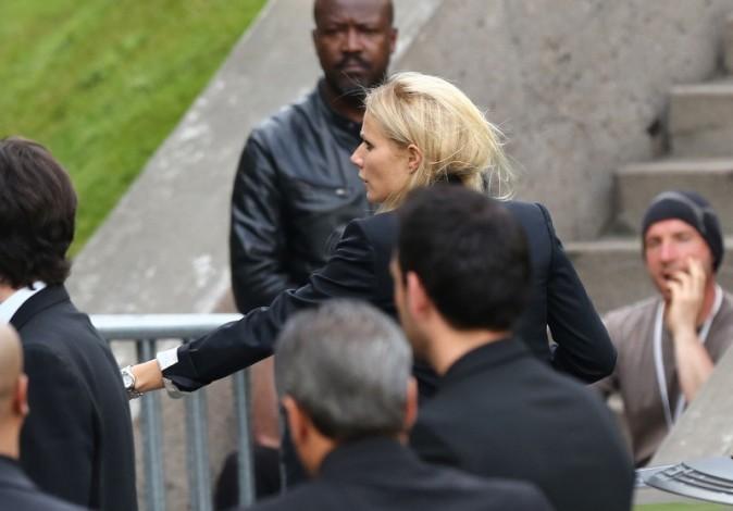 Gwyneth Paltrow qui arrive à Bercy pour le concert de Kanye West et Jay-Z, le 1er juin 2012.
