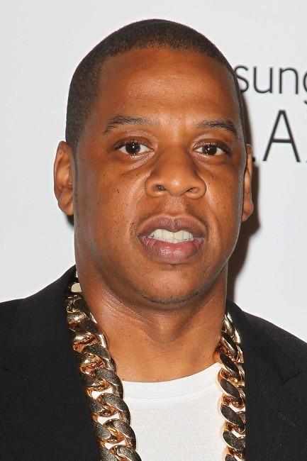"""Jay-Z lors de la soirée de lancement de son album """"Magna Carta... Holy Grail"""" à New York, le 3 juillet 2013."""