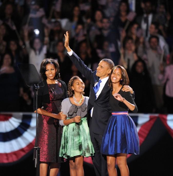Barack Obama complètement gaga de Sasha et Malia !