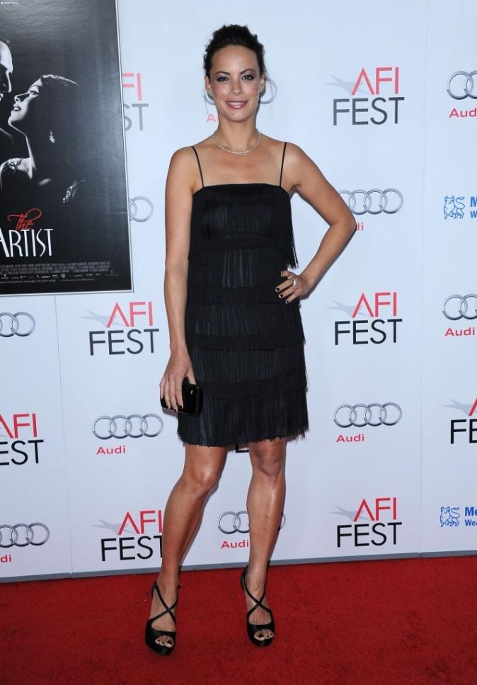 Bérénice Bejo lors de l'avant-première du film The Artist à Hollywood, le 8 novembre 2011.