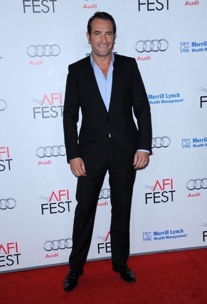 Jean Dujardin lors de l'avant-première du film The Artist à Hollywood, le 8 novembre 2011.