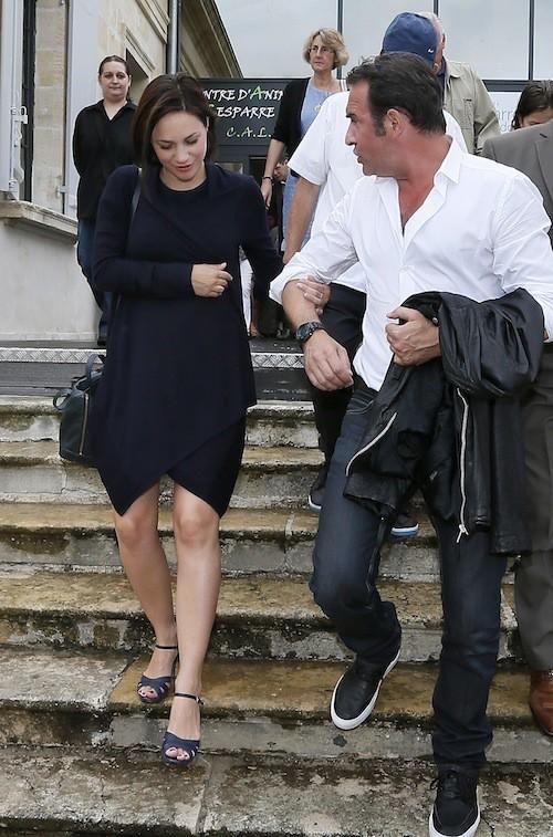 Photos : Jean Dujardin et Nathalie Péchalat : heureux et amoureux !