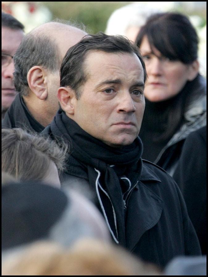 Aux obsèques de Claude Berri en janvier 2009