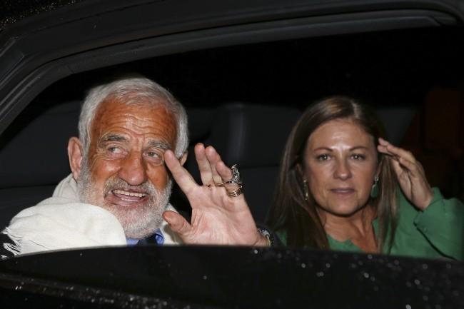 Jean-Paul Belmondo a fêté ses 80 ans entouré de ses proches, le 9 avril 2013 à Paris