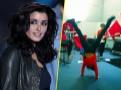 Photos : Jenifer : c'est la récréation pendant les répétitions !