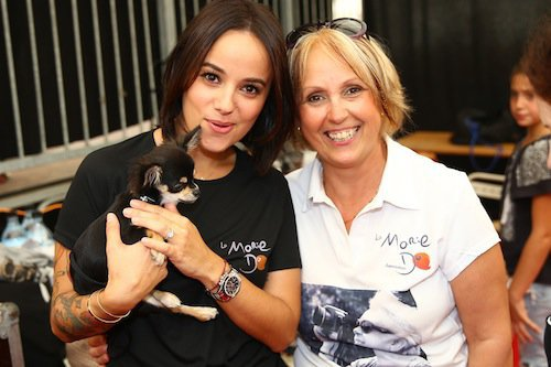 Photos : Jenifer et Alizée : marraines divines contre le cancer