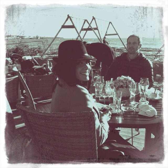 Jenifer en déjeuner à Cannes le 25 janvier 2013