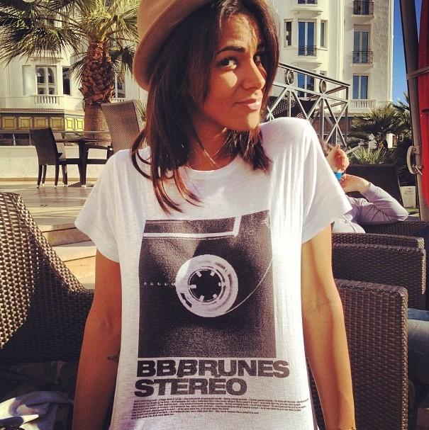 Shy'm à Cannes le 25 janvier 2013