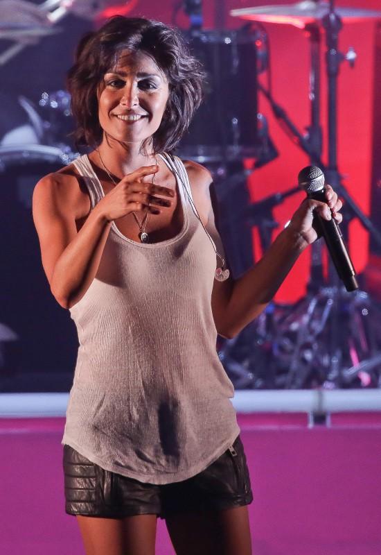 Jenifer en concert à Marcq-en-Baroeul, le 14 juillet 2013.