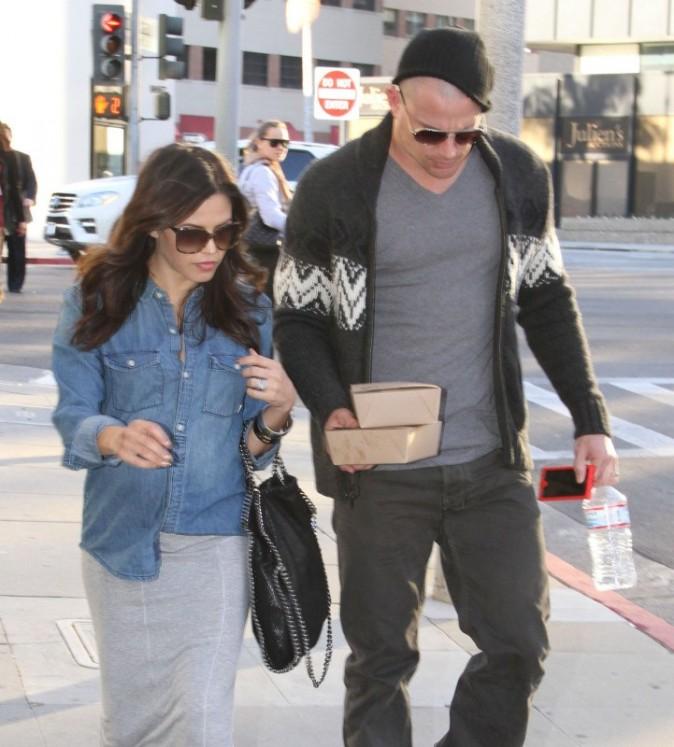 Jenna Dewan et son mari Channing Tatum à Beverly Hills, le 16 janvier 2013.