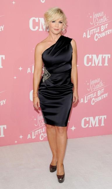 Jennie Garth lors de la soirée d'anniversaire de ses 40 ans à Los Angeles, le 19 avril 2012.
