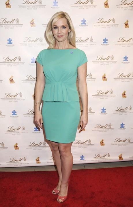 Jennie Garth à New-York le 5 mars 2013
