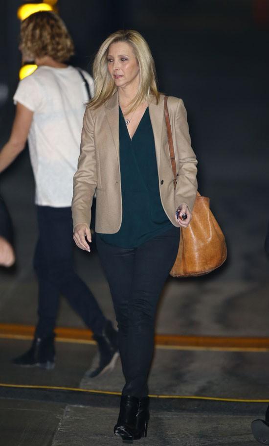 Lisa Kudrow de passage au Jimmy Kimmel Live le 24 novembre 2014