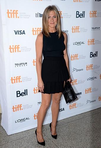 Jennifer Aniston à Toronto le 8 septembre 2014