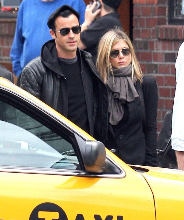 Jennifer Aniston et Justin Theroux s'affichent ensemble !
