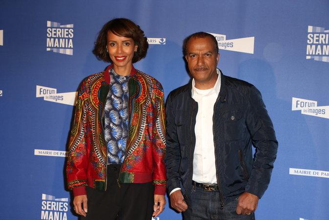 Sonia Rolland et Pascal Legitimus
