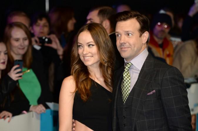 Olivia Wilde et Jason Sudeikis le 11 novembre 2014