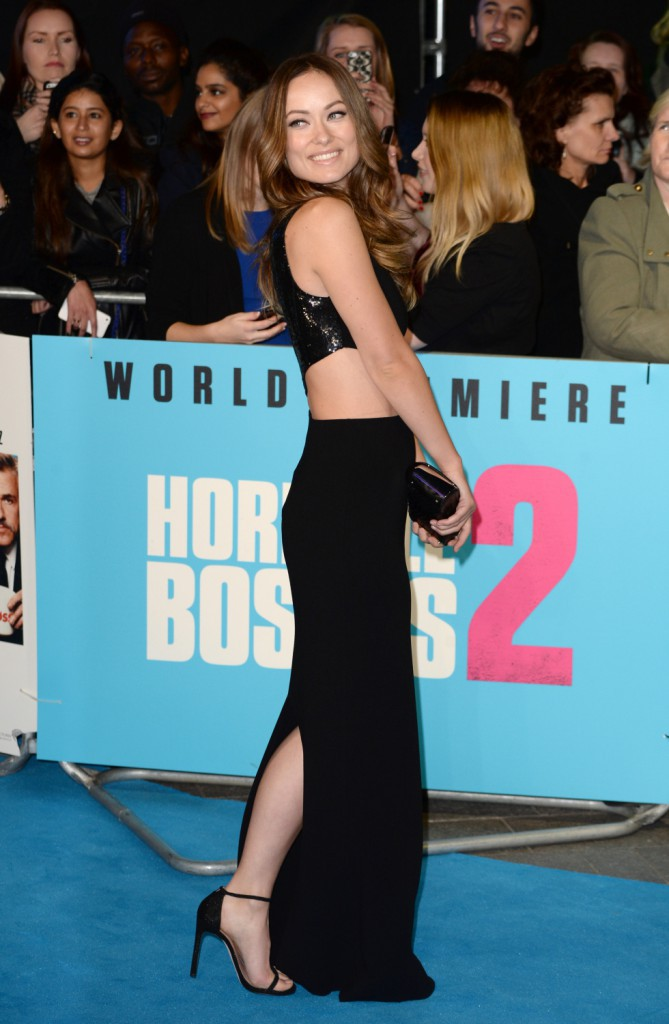 Olivia Wilde le 11 novembre 2014