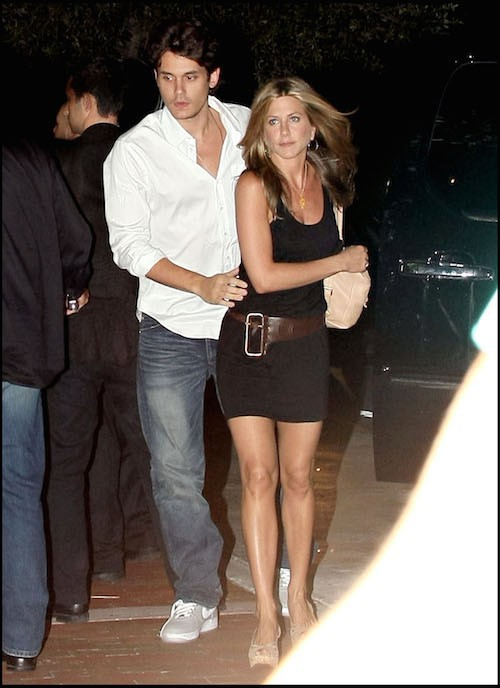Jennifer Aniston et John Mayer