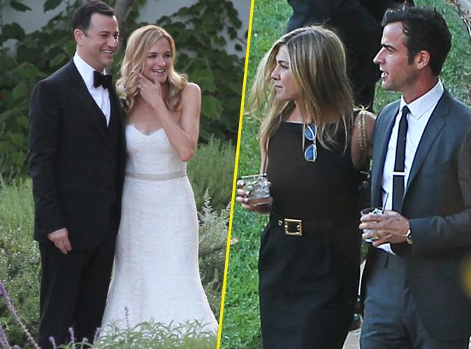 photos jennifer aniston kristen bell matt damon tous prsents au mariage du clbre jimmy kimmel - Jennifer Aniston Mariage