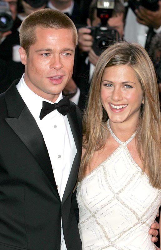 Au Festival de Cannes en 2004, quelques mois avent leur séparation ...