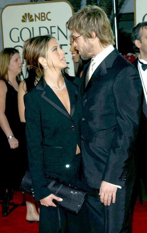Jen n'avait d'yeux que pour son Brad !