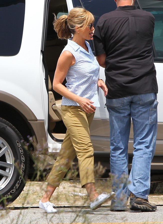 Jennifer Aniston le 23 juillet 2012 à Wilmington