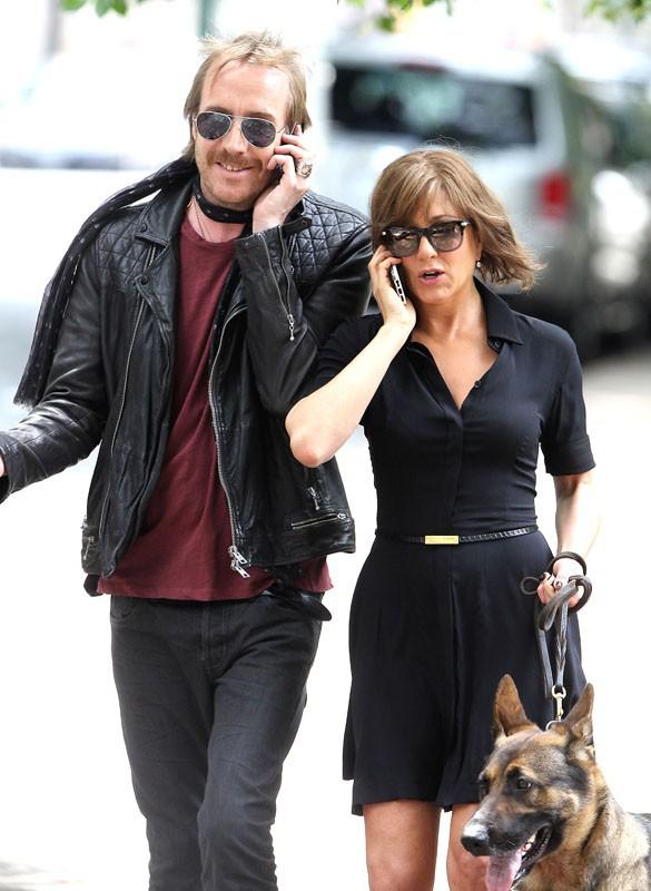 Jennifer Aniston sur le tournage de son dernier film à New York