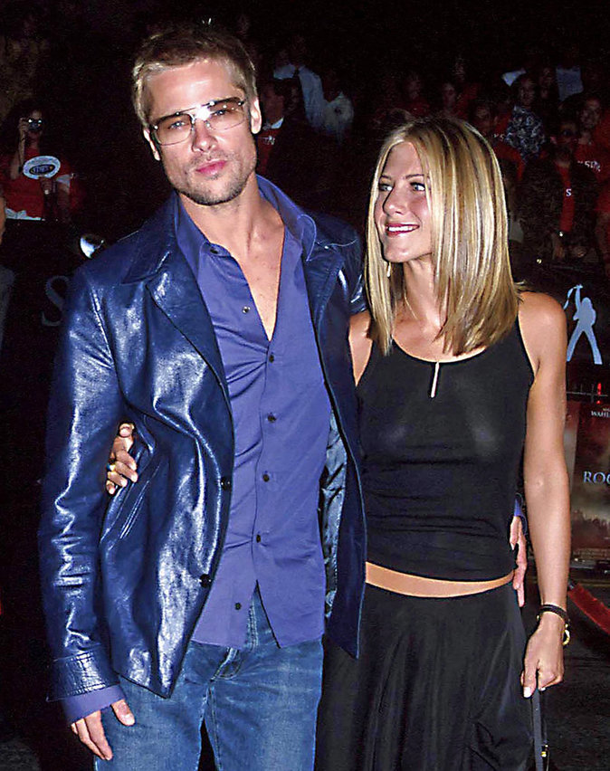 Brad Pitt et Jennifer Aniston