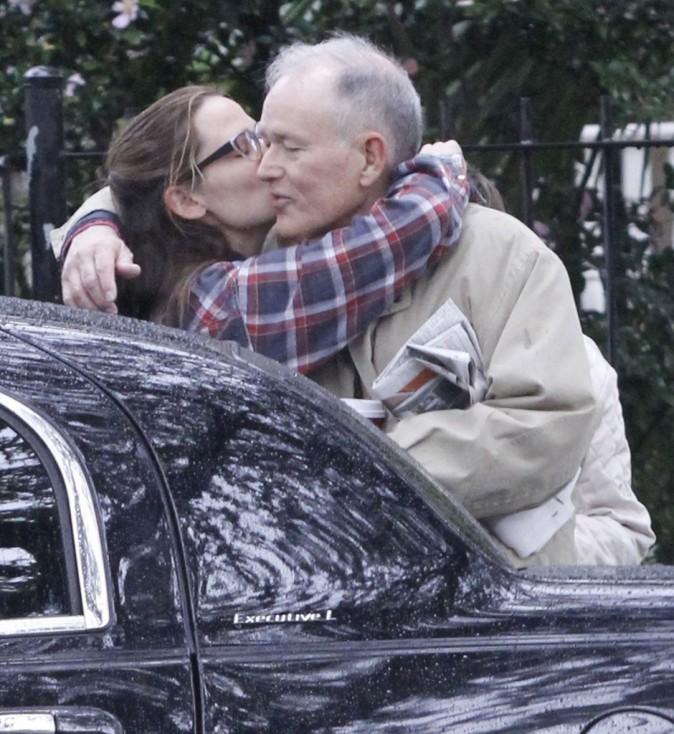 Jennifer Garner avec ses parents à la Nouvelle-Orléans le 26 septembre 2012