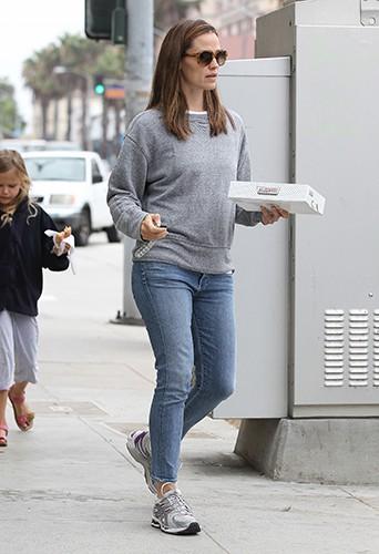Jennifer Garner et sa fille Violet à Santa Monica le 5 août 2013