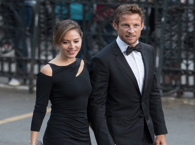 Jessica Michibata et Jenson Button