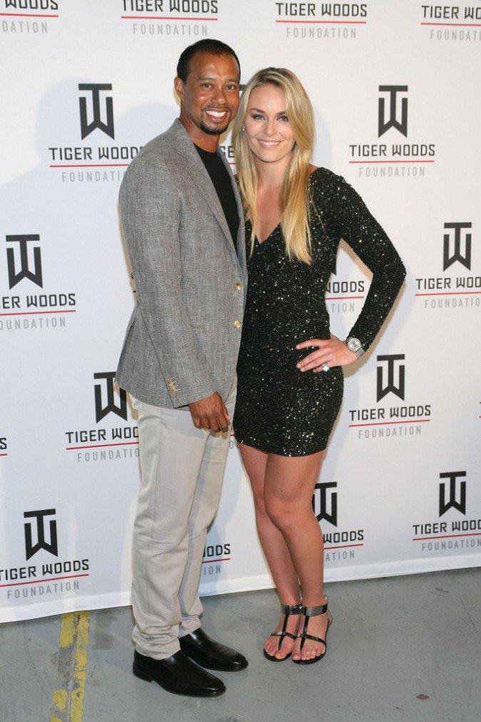 Tiger Woods et Lindsey Vonn