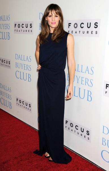 """Jennifer Garner lors de la première du film """"Dallas Buyers Club"""" à Beverly Hills, le 17 octobre 2013."""