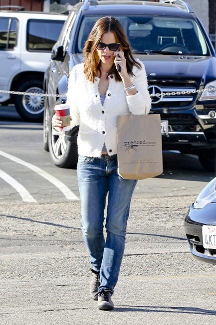 Jennifer Garner, toujours lookée casual