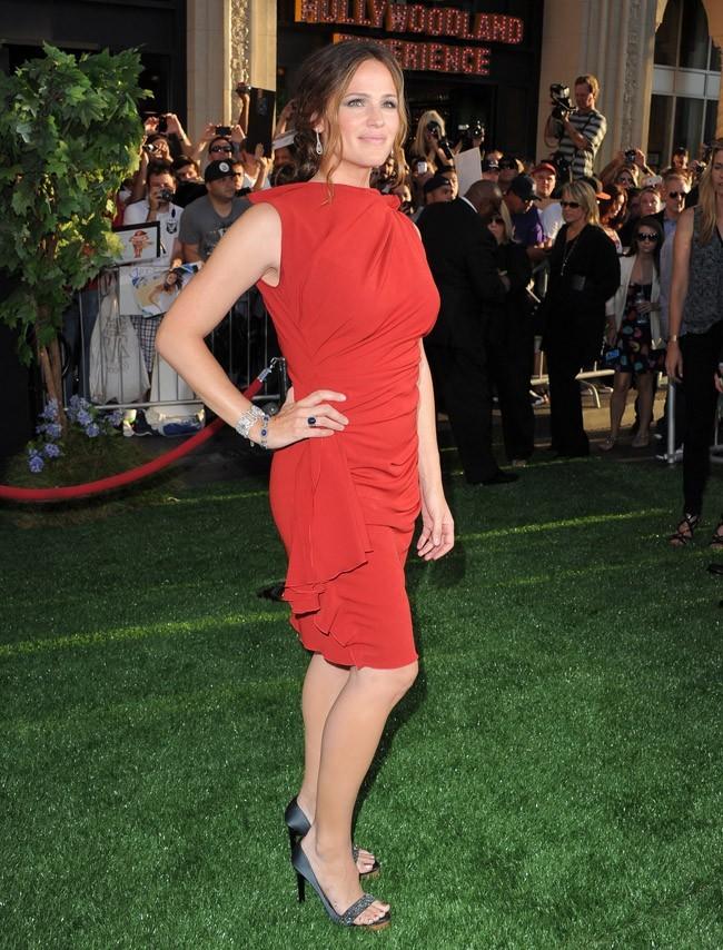 Jennifer Garner présente The Odd Life of Timothy Green le 6 août 2012 à Los Angeles