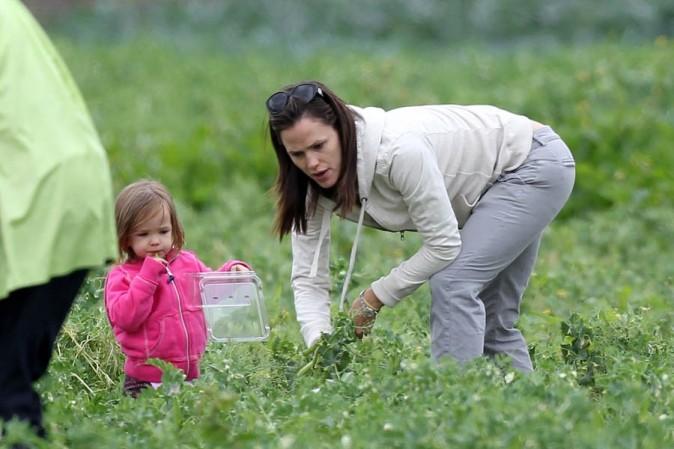 Jennifer Garner joue les paysannes !