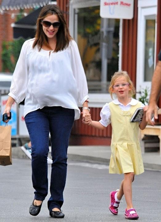 Avec sa petite Violet