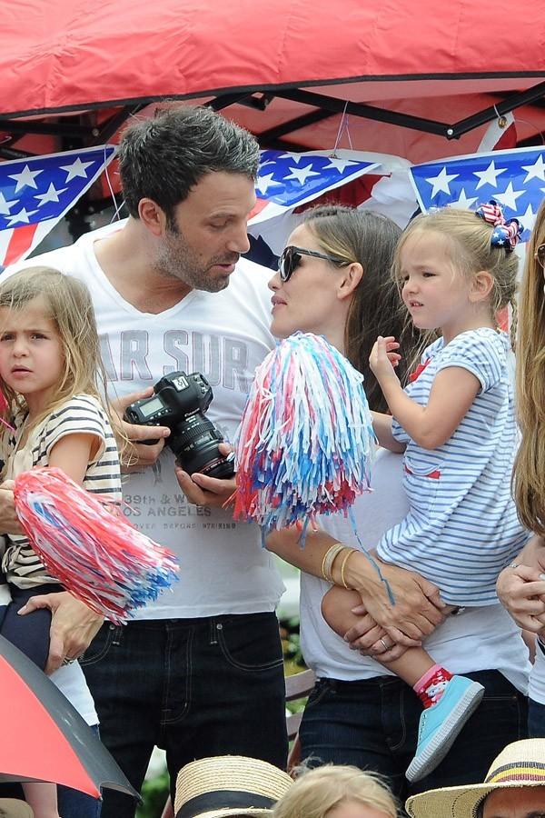 Ben Affleck et Jennifer Garner ont fêté le 4 juillet en famille à Pacific Palisades