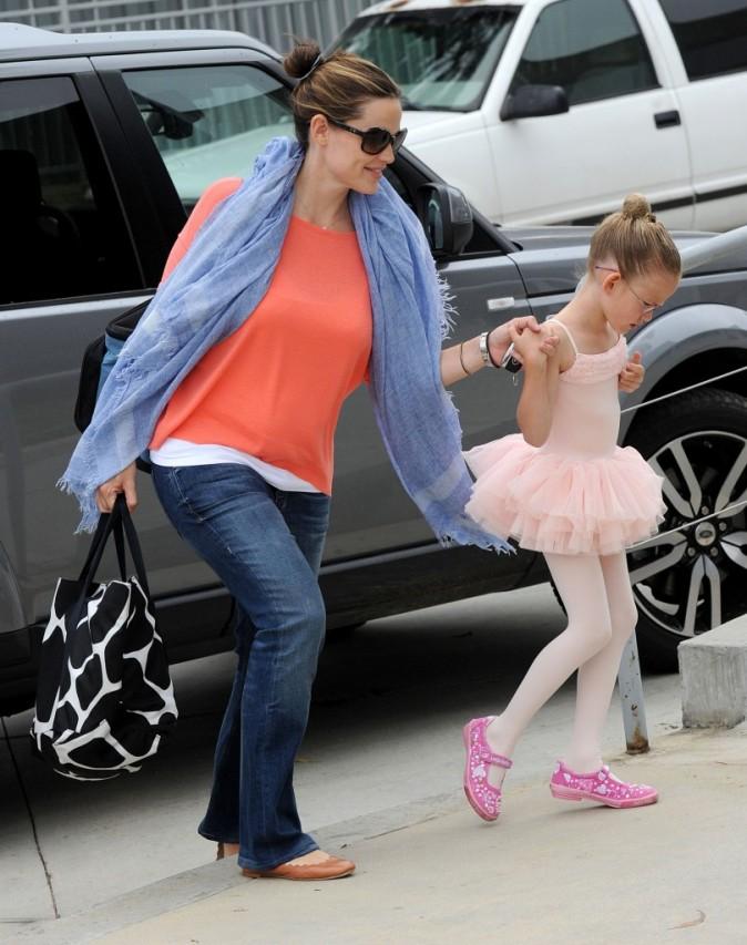 Jennifer Garner avec la star du jour !