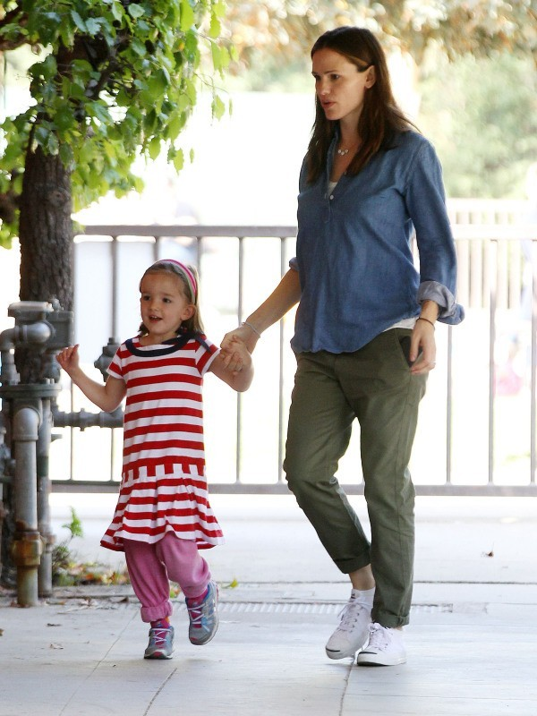 Jennifer Garner et Ben Affleck, Pacific Palisades, 23 mars 2013.