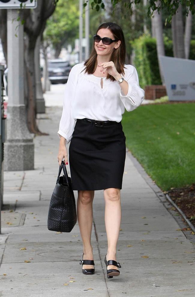 Jennifer Garner à Brentwood le 12 septembre 2012