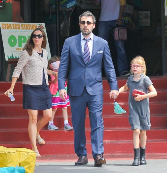 Jennifer Garner, Ben Affleck et lerus enfants, Los Angeles, 1er juin 2013