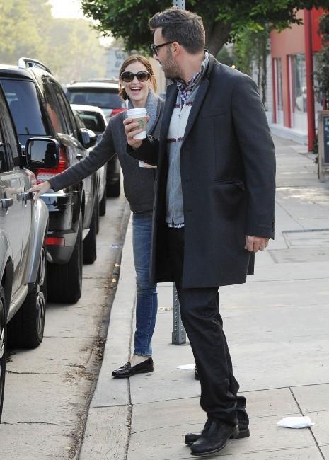 Jennifer Garner et Ben Affleck, Los Angeles, 2 novembre 2012.